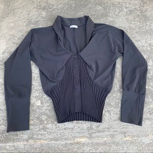 crea concept Long Sleeve Cardigan